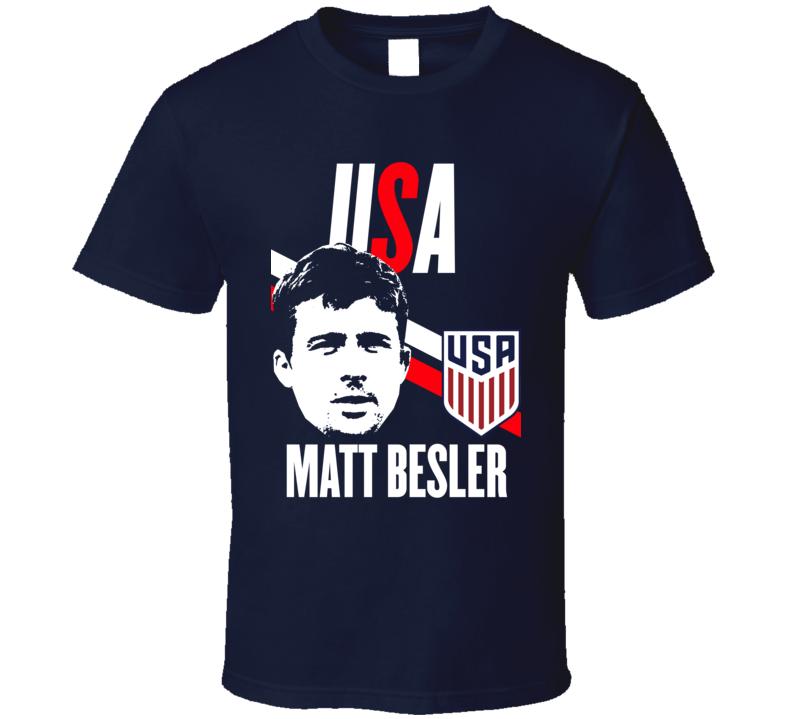 Matt Besler Is My Player Fan Team USA Copa America Cup Soccer Futball T Shirt