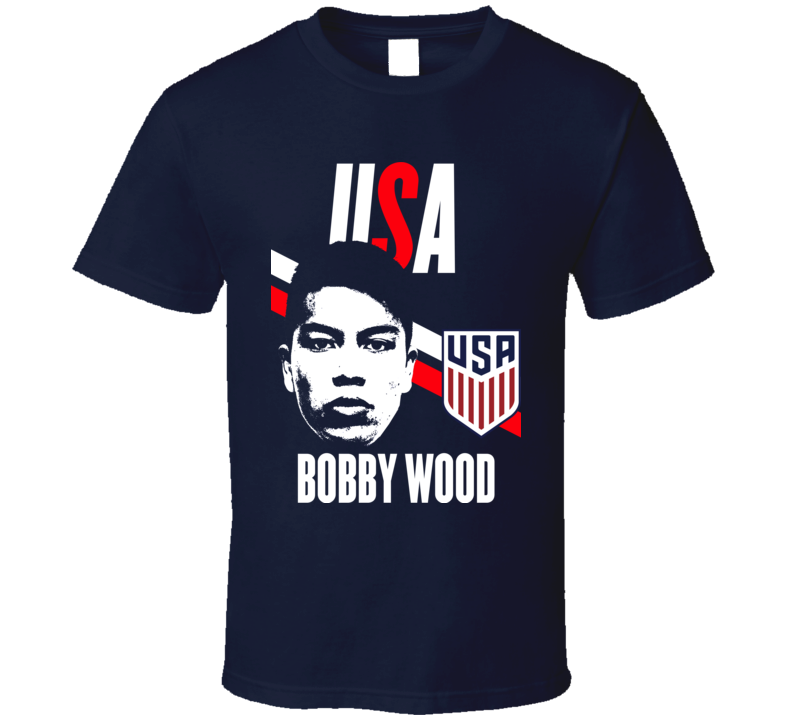 Bobby Wood Is My Player Fan Team USA Copa America Cup Soccer Futball T Shirt