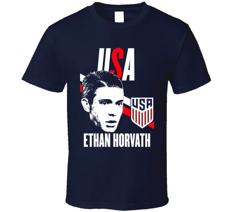 Ethan Horvath Is My Player Fan Team USA Copa America Cup Soccer Futball T Shirt