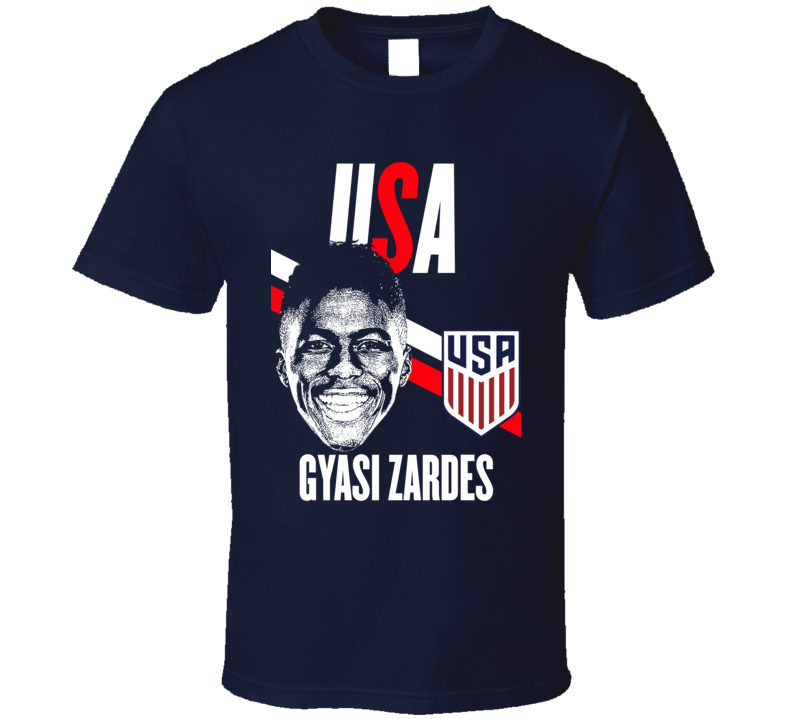 Gyasi Zardes Is My Player Fan Team USA Copa America Cup Soccer Futball T Shirt