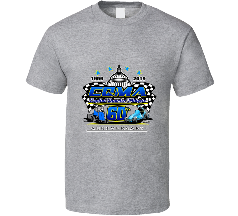 Cqma 60th Anniversary T Shirt
