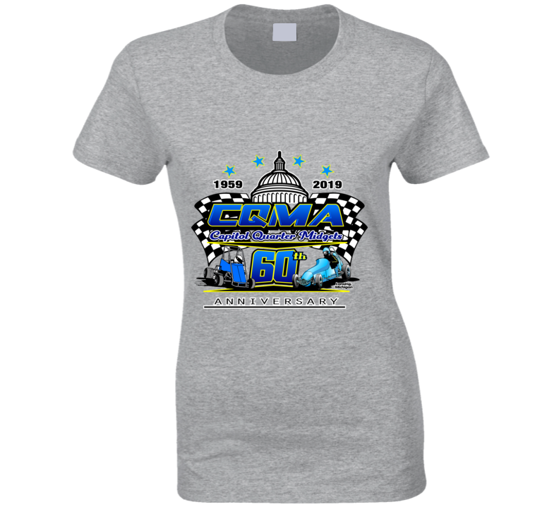 Cqma 60th Anniversary Ladies T Shirt