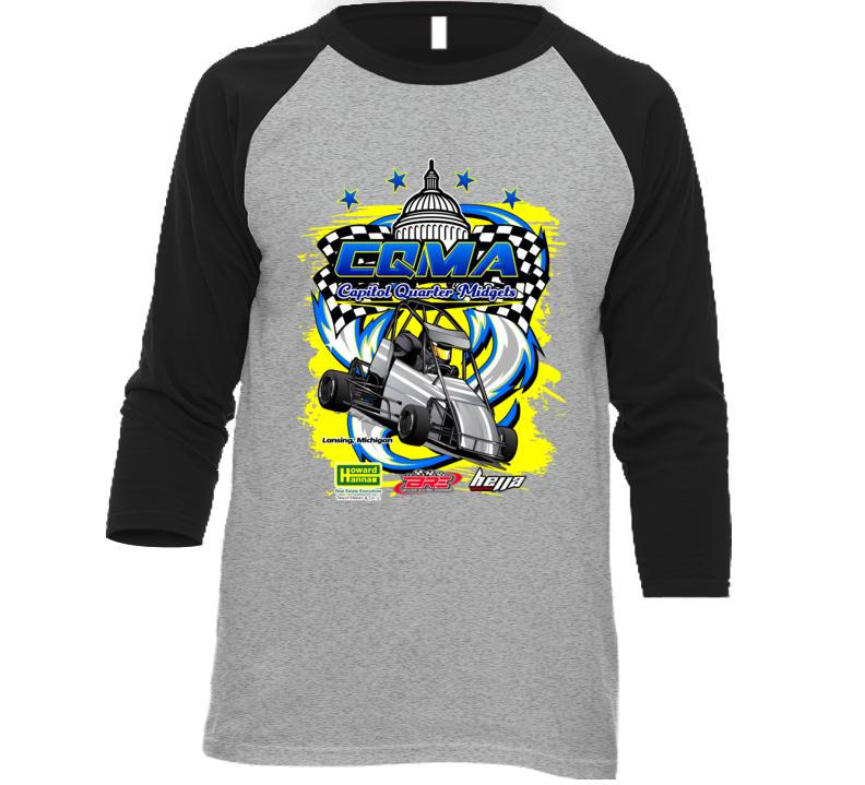 Cqma Event Baseball T Shirt