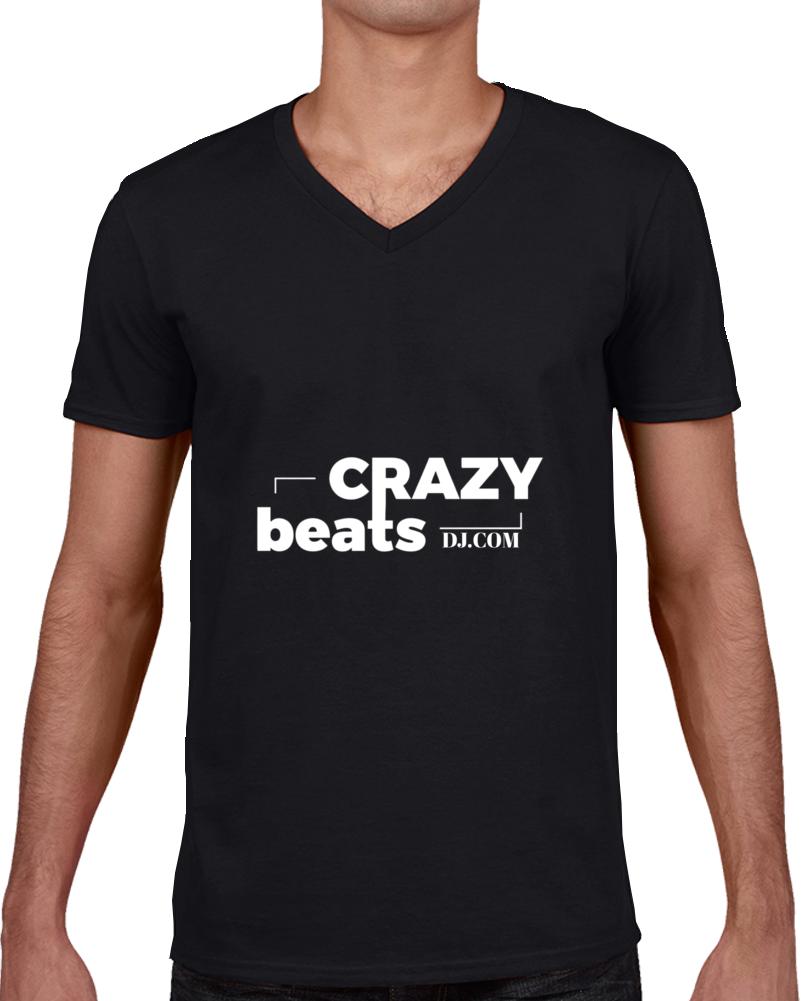Crazybeatsdj.com Logo T Shirt