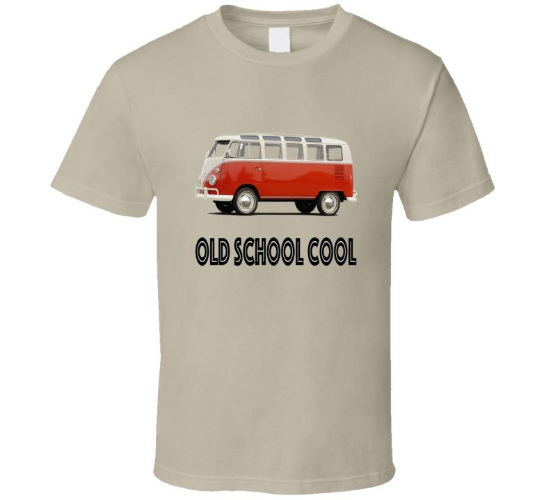 Vw Bus Old School Cool