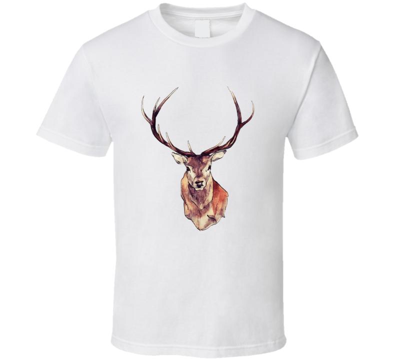 Deer Bust T Shirt