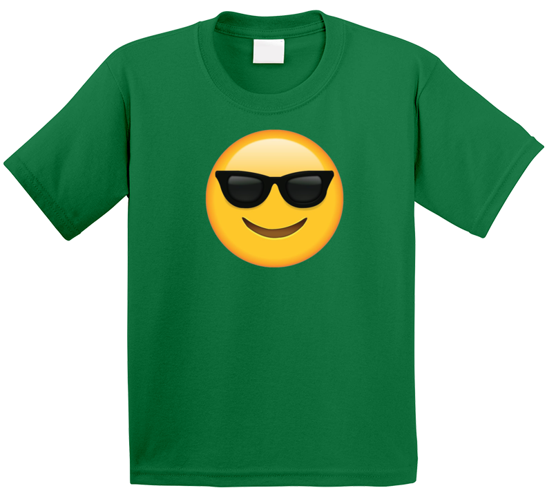 Cool Sunglasses Emoji T Shirt