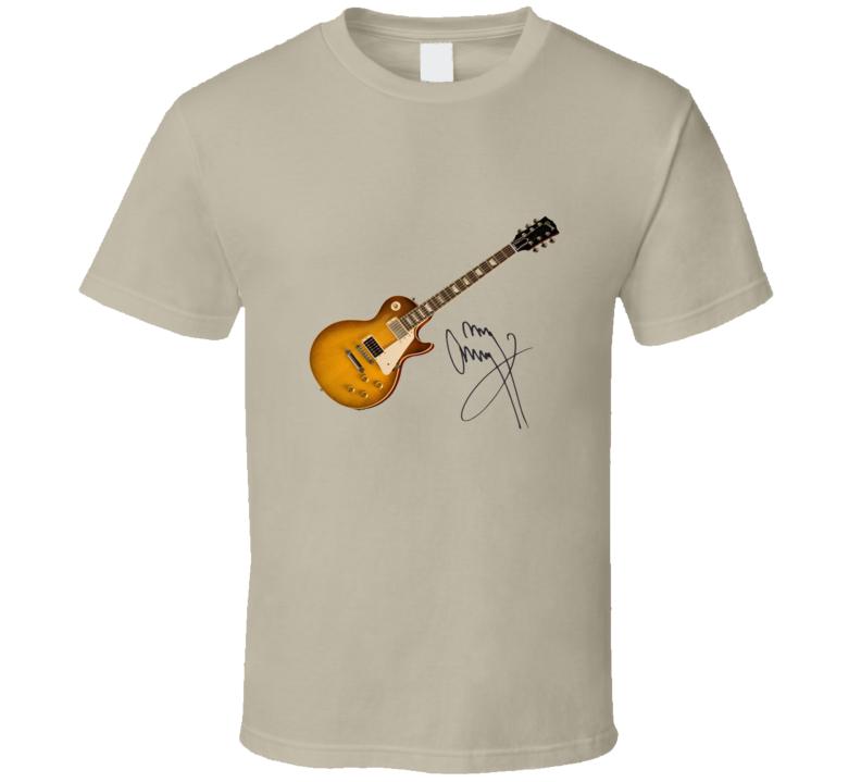 Jimmy Page's Les Paul Standard Guitar T Shirt