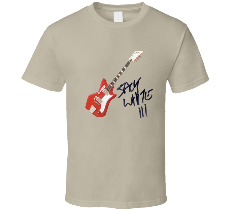 Jack White's Airline Guitar T Shirt