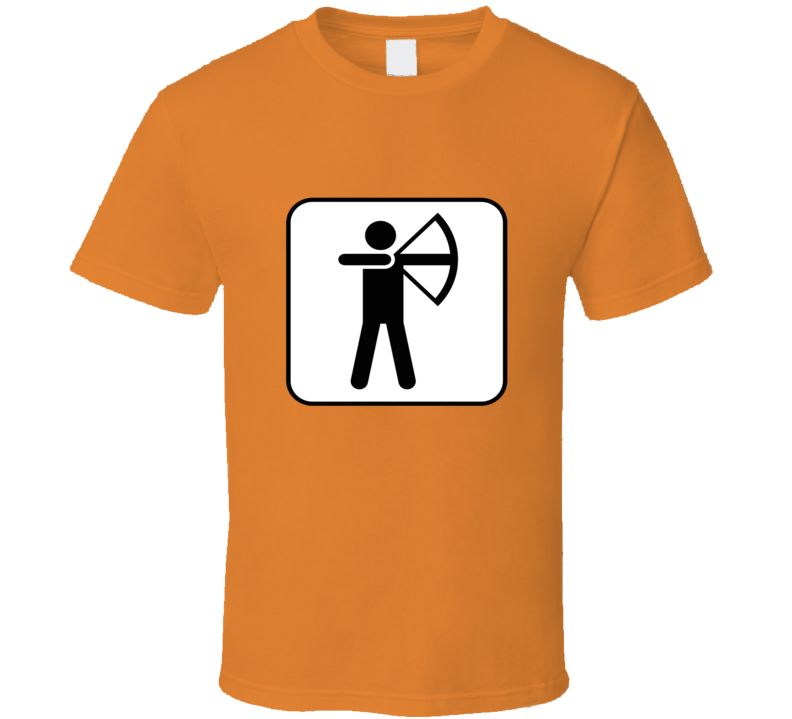 Bow Hunting Stickman T Shirt