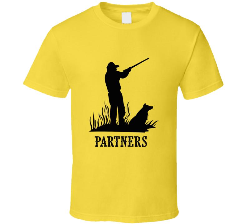 Hunting Dog Partner T Shirt
