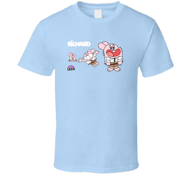 The amazing world of gumball richard darwin T Shirt