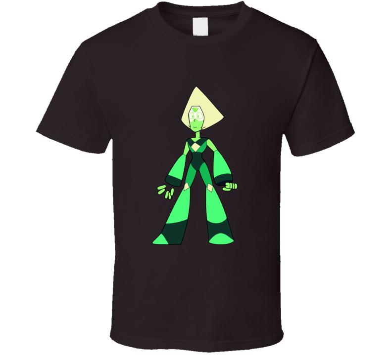 Steven Universe Peridot Crystal Gems T Shirt
