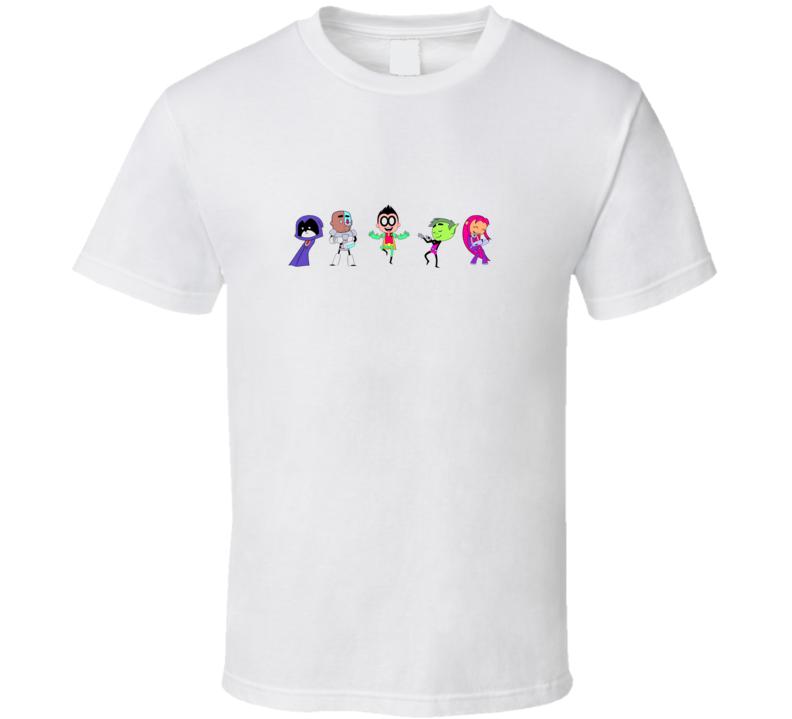 Teen Titan Go Robin Raven Beast boy starfire T Shirt