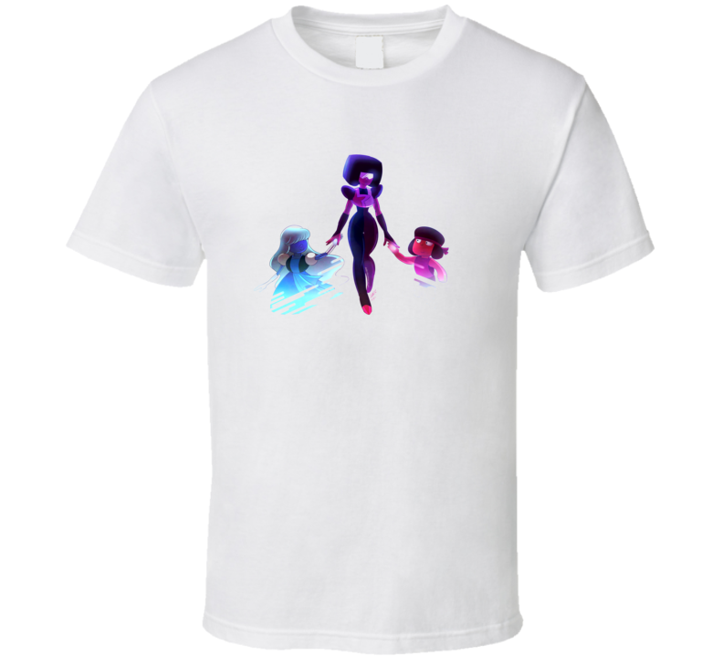 Steven Universe Garnet Ruby Saphire  T Shirt