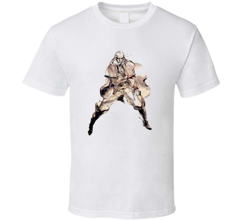Metal Gear Solid Ocelot Snake T Shirt