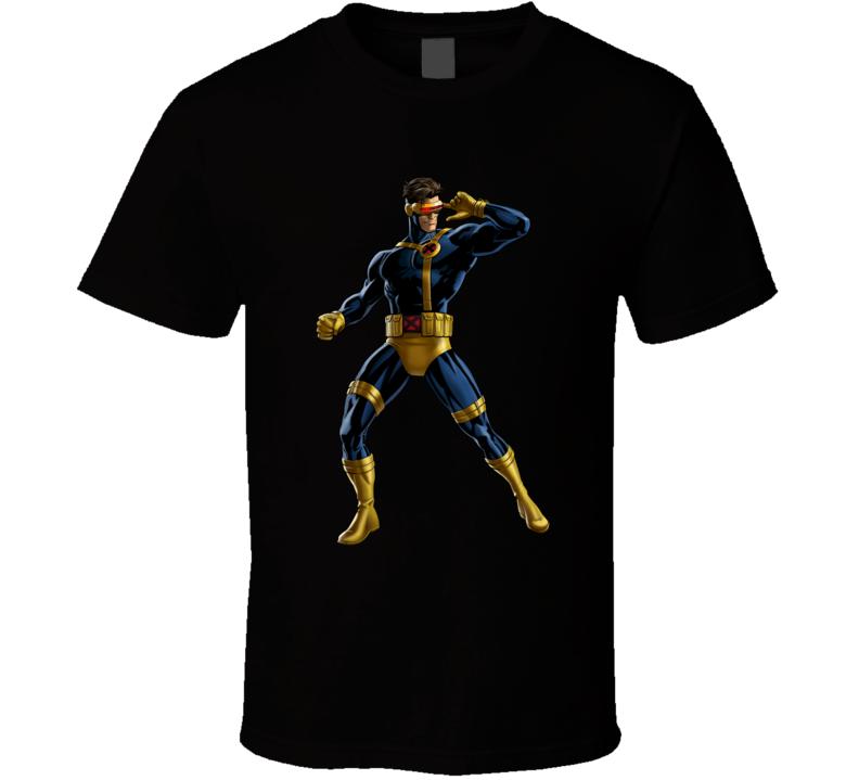 Cyclops Xmen Marvel comic T Shirt