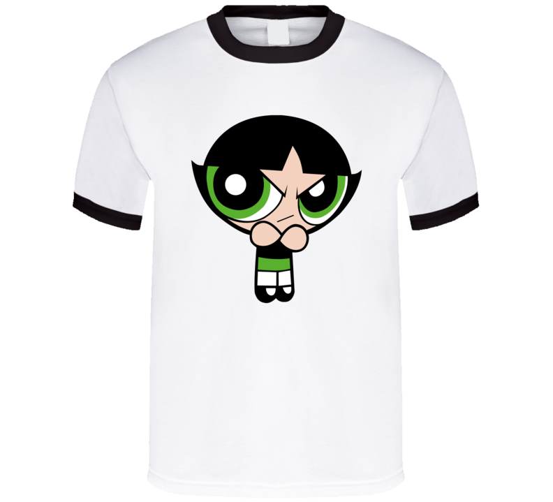 Powerpuff Girls Buttercup Blossom Bubbles T Shirt