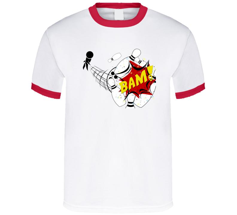Falling Bowling Pins T-Shirt