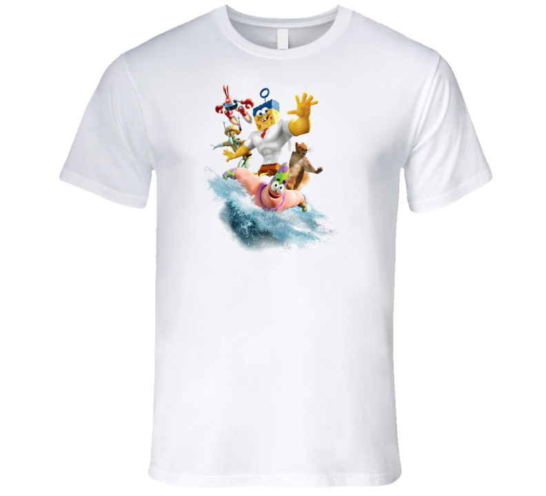 The SpongeBob Movie Sponge Out of Water T Shirt