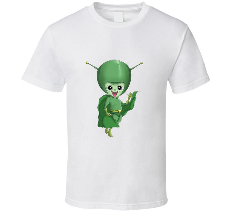 Flintstones Gazu Fred Space alien T Shirt
