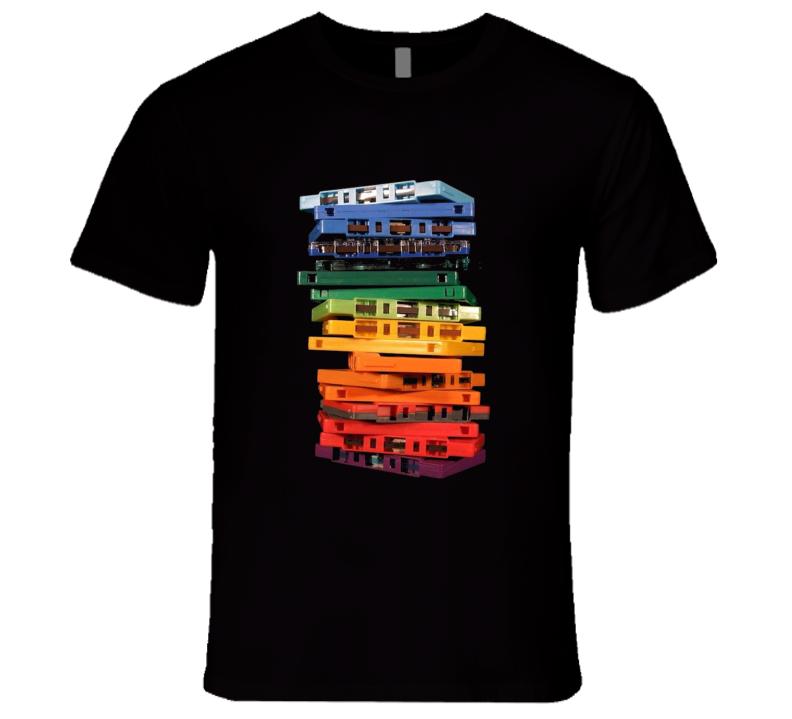 Cassette Tape 80s retro T Shirt
