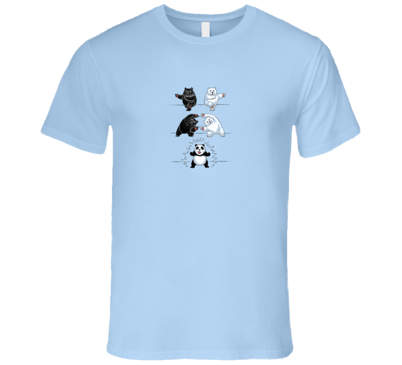 Panda Fusion Dragon ball z bear T Shirt