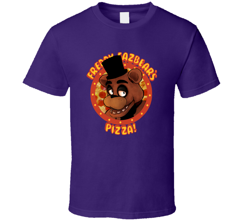 five nights at freddy's FNAF purple T Shirt