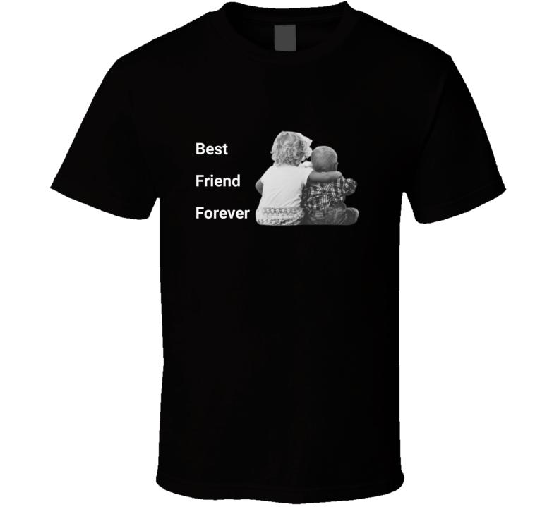 Best Friend Forever Black T Shirt