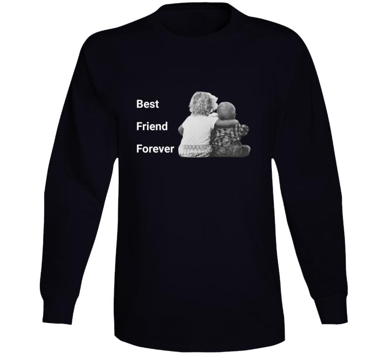 Best Friend Forever Black Long Sleeve