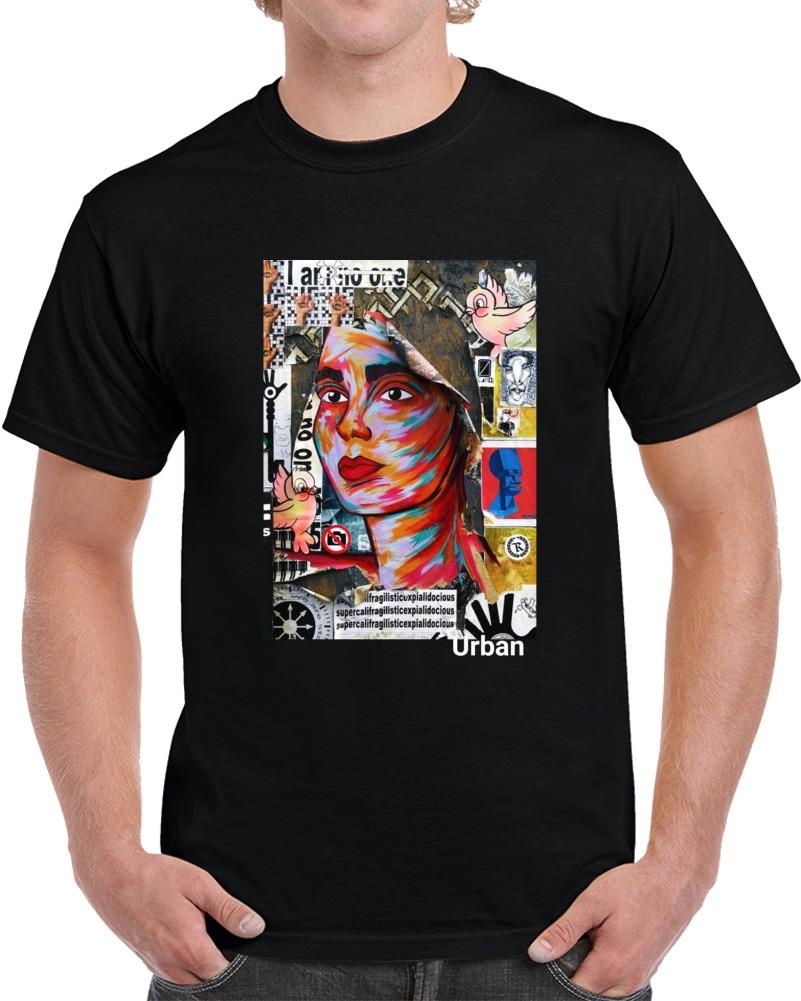 Urban Black T Shirt
