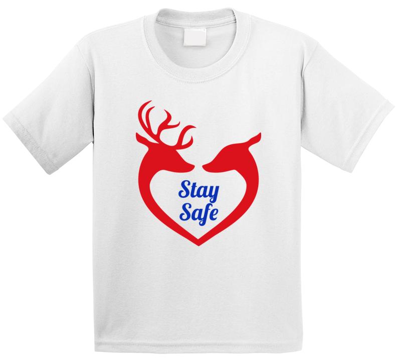 Reindeer Love White T Shirt