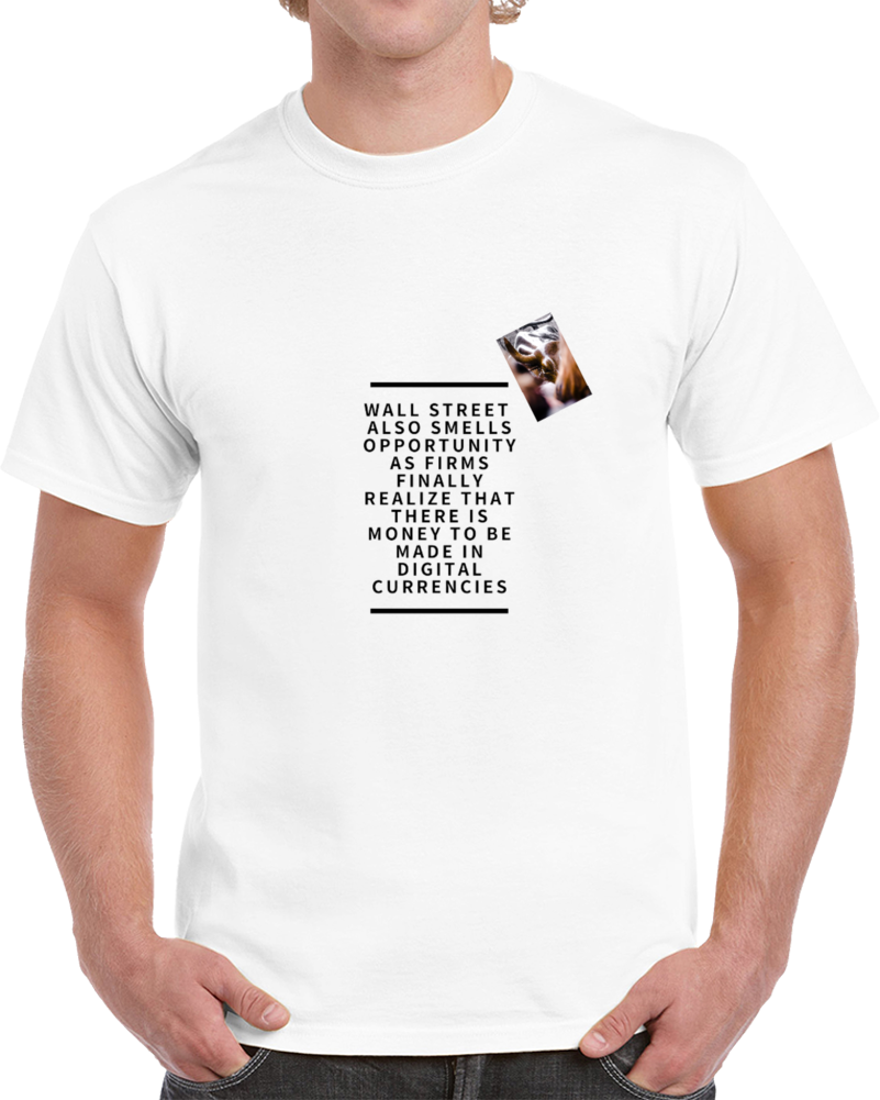 Wall Street Smell Oppotunity Pic T Shirt