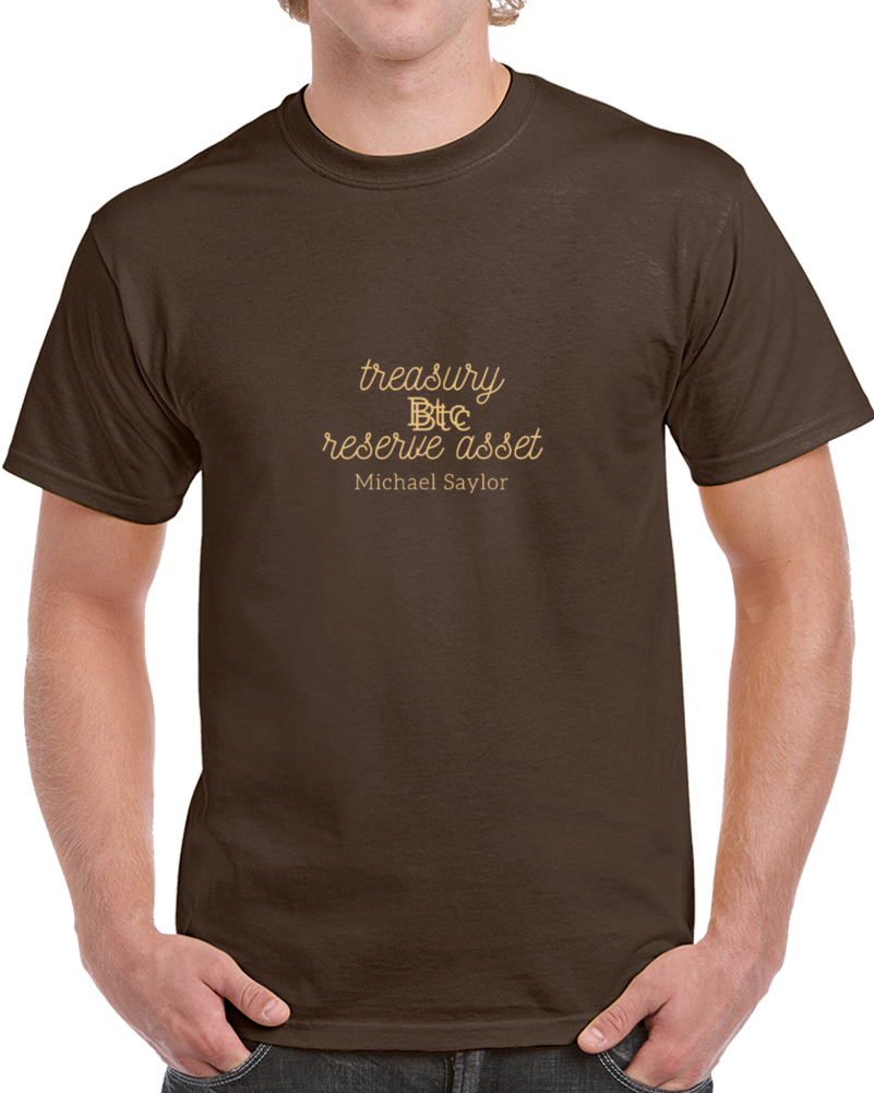 Btc Treasury Reserve Asset T Shirt