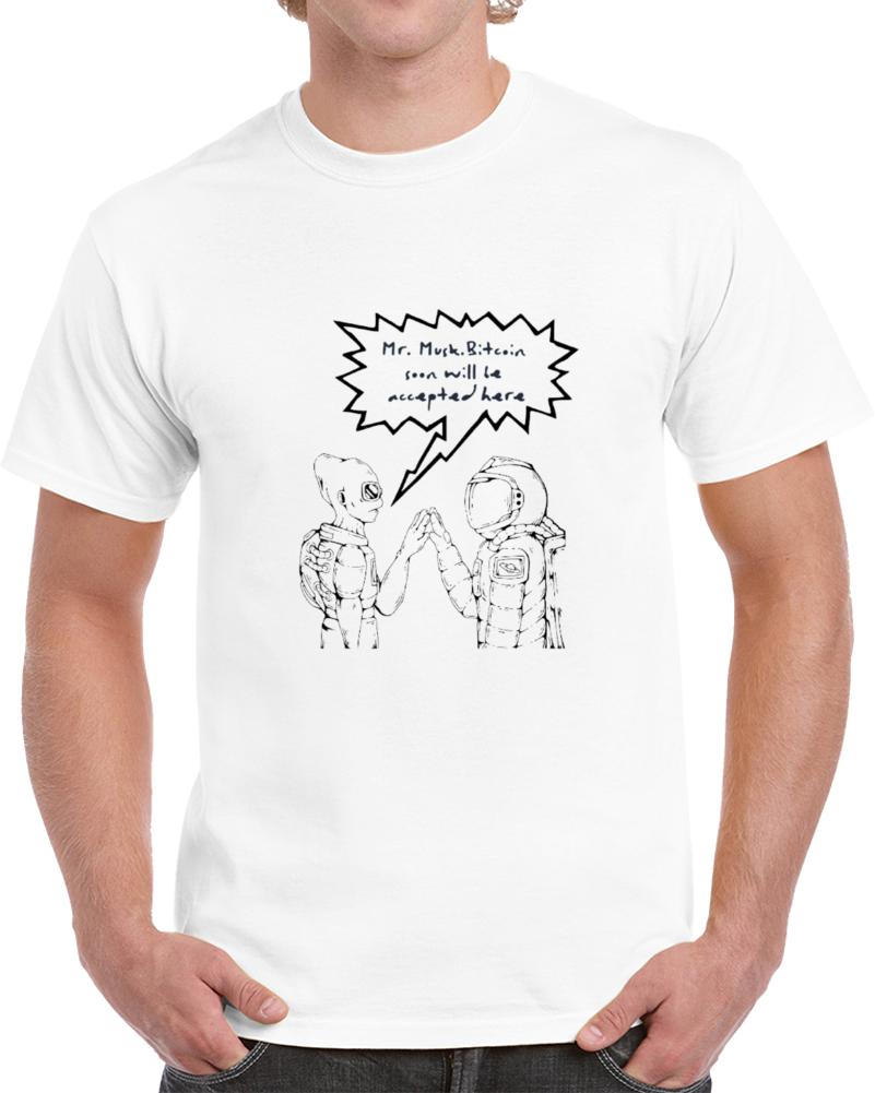 Bitcoin - Broader Acceptance Wt T Shirt