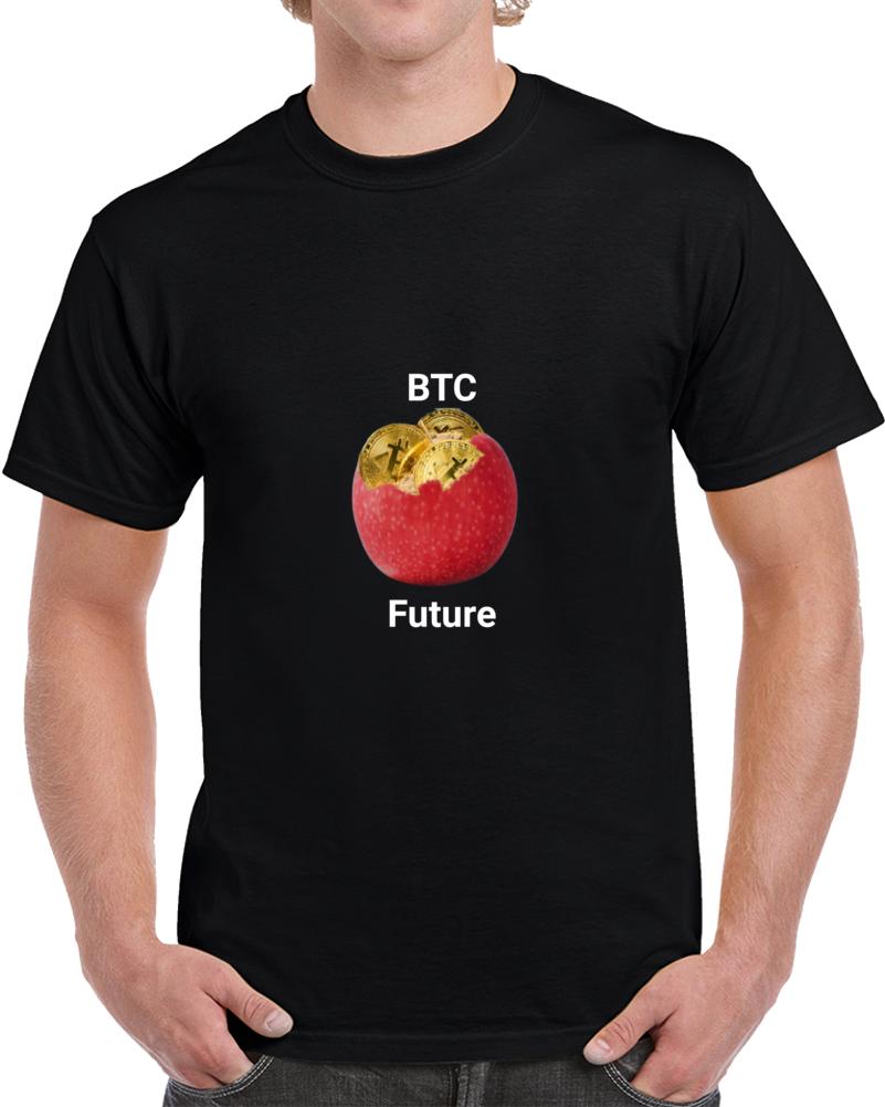 Apple Bitcoin T Shirt