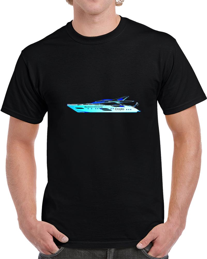 Blockchain Ownership 050721 Yblu T Shirt