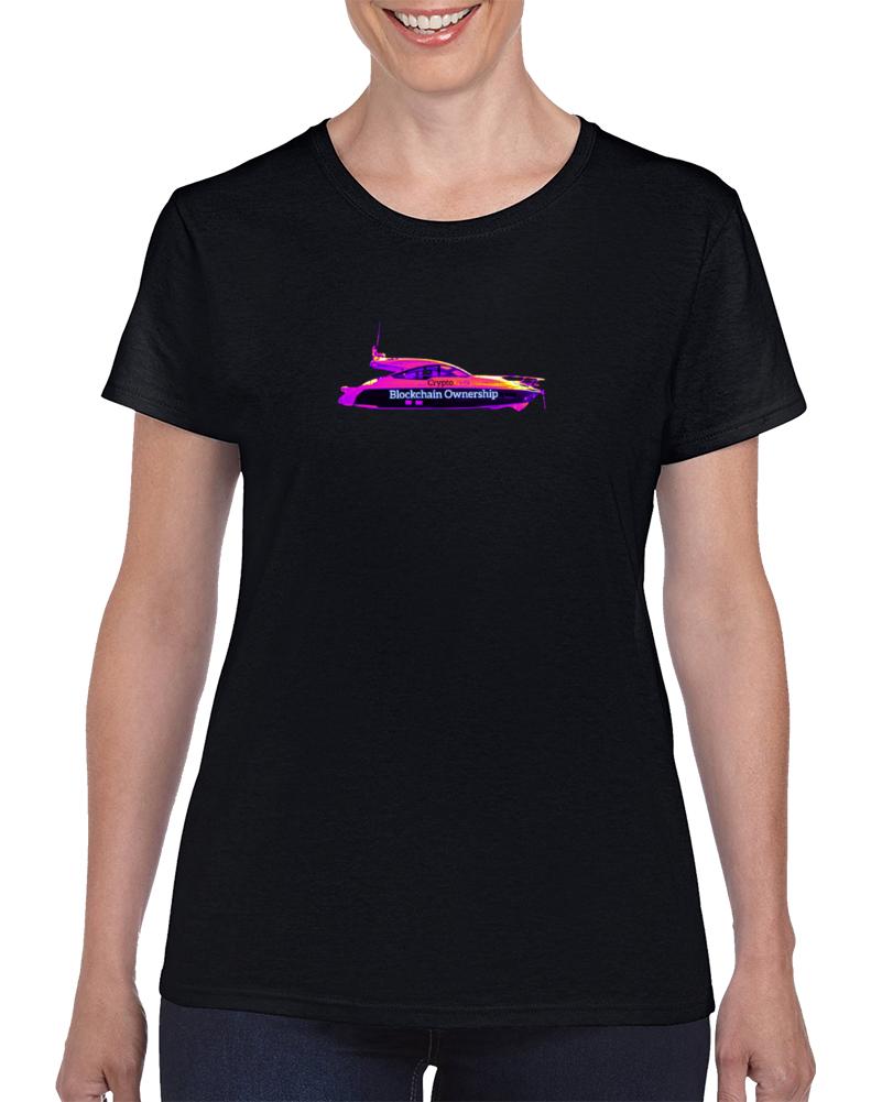 Blockchain Ownership 080521 Yblp Ladies T Shirt