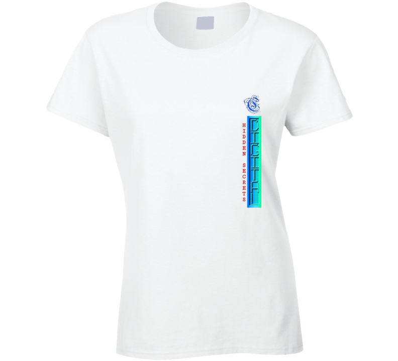 Digital Hidden Secrets Ladies T Shirt
