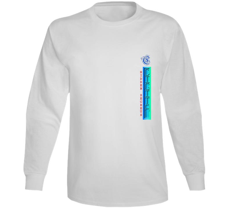 Digital Hidden Secrets Long Sleeve T Shirt
