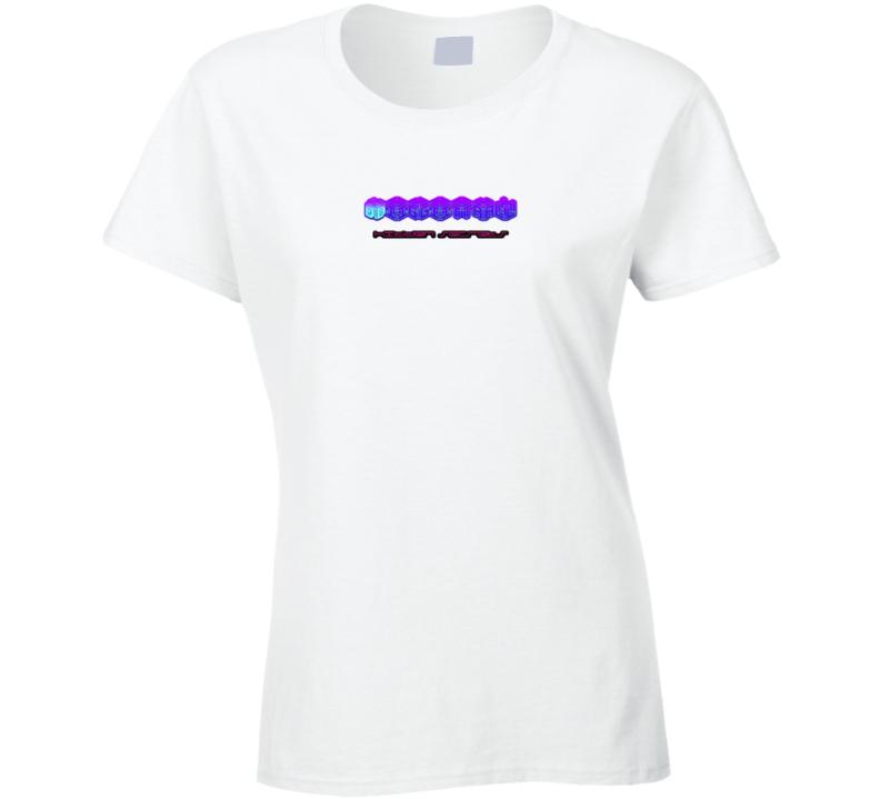 Digital Let Hidden Secrets Wht Ladies T Shirt