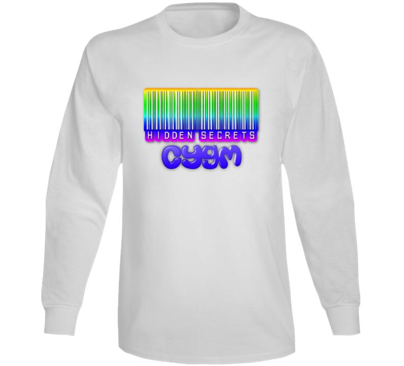 Hidden Secrets Barcode Long Sleeve T Shirt