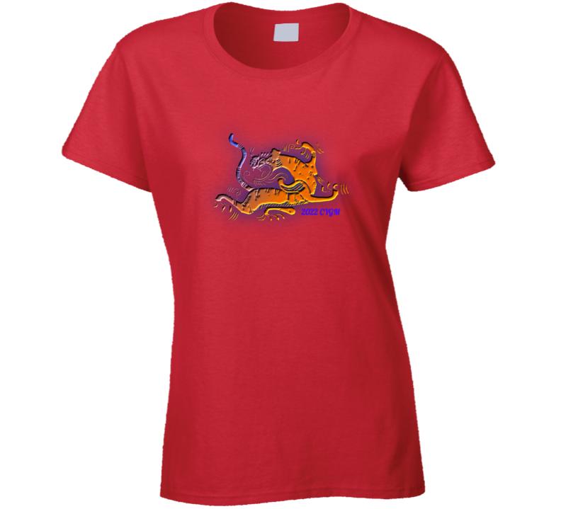 Tiger 2022 Ladies T Shirt