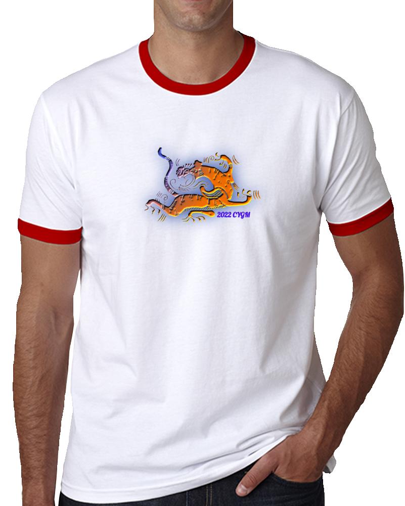 Tiger 2022 Ringer T Shirt