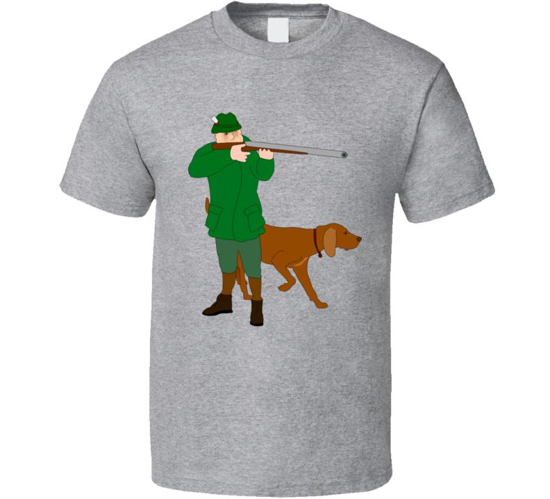 Hunting Sport Bird With Dog Fan Gift T Shirt