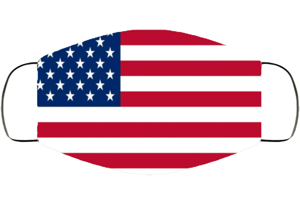 American Usa Flag Covid Mask Gift  Face Mask Cover