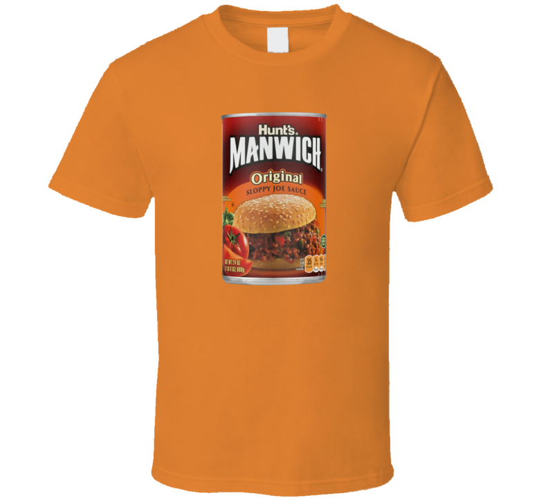 Manwich Halloween Costume Funny Gift T Shirt