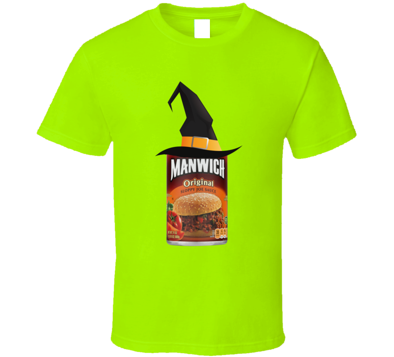 Manwich Witch Costume Funny Gift T Shirt