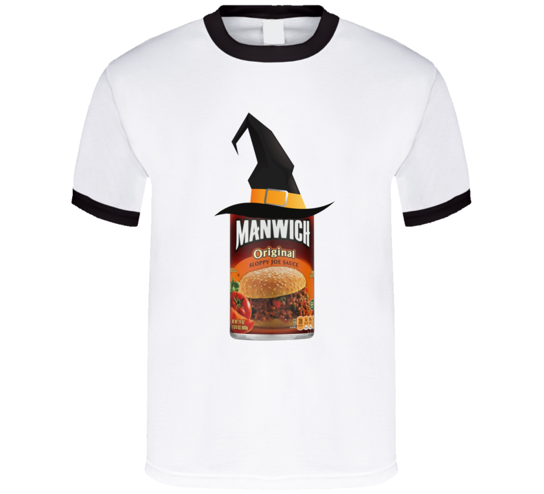 Manwich Witch Funny Halloween Costume T Shirt