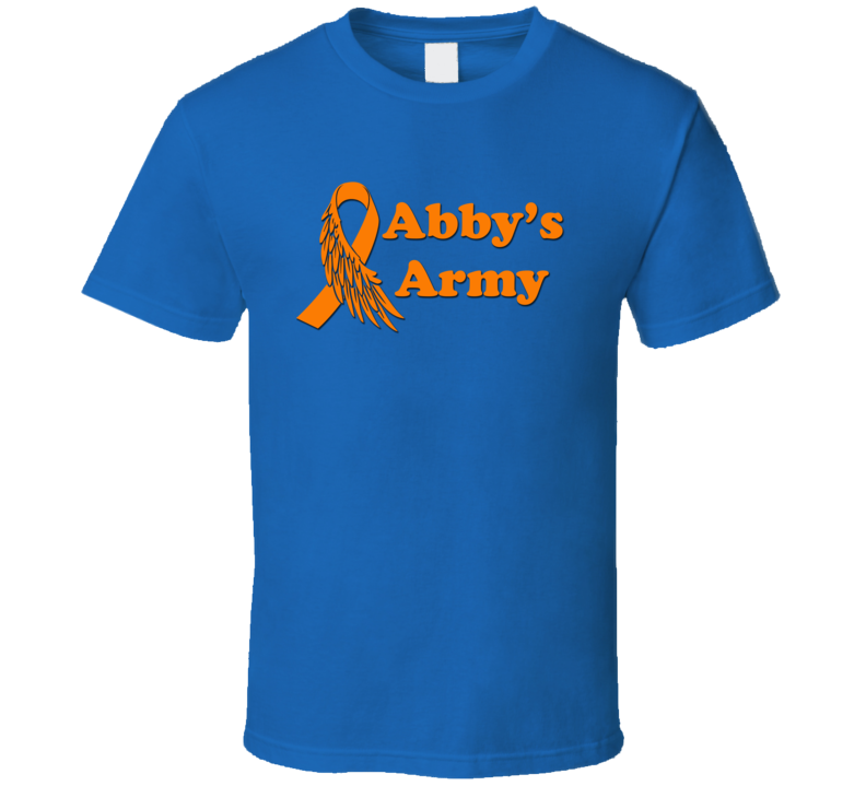 Abby's Army Cancer Support  T Shirt
